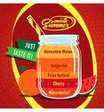 Watermelon-–-Cherry-–Polar-Apricot-–-Tangerine-–-Honeydew-Melon